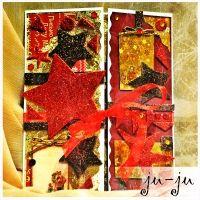 """Роскошная большая открытка с сияющими звездами Красивая мужская открытка """"раскладушка"""" с двумя створками. Больше открыток тут: https://vk.com/otkryitki_juju https://www.facebook.com/jujumagiccards Открытки Ju-Ju приносят счастье!"""
