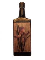 Декоративная бутылка ручной работы в технике декупаж. Декупажвыполнен декупажной картой. Может испоьзоваться по назначению или как декор