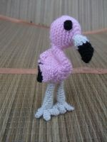 Розовый фламинго, как и с песни. Игрушка подойдет и для деток и для подарка. Выполнена из акрила, наполнитель - холофайбер.