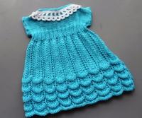 Бирюзовое летнее платье