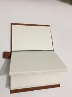 Кожаный блокнот для акварели