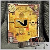 Стильная открытка для мужчины Больше открыток тут: https://vk.com/otkryitki_juju https://www.facebook.com/jujumagiccards Открытки Ju-Ju приносят счастье!