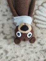 набір для новонародженого бряскальце з ігрушкою мішка