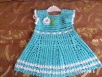 Виготовлю для вашої донечки або на подарунок гарне платтячко. Термін виготовлення - 10-14 днів. На вік 2 роки. Можу виготовити більший розмір