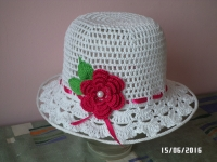 Шляпка окраса гардеробу ! Виготовлю на замовлення для вашої донечки ! Матеріали : 100 % хлопок,термін виготовлення -3 -5 днів.