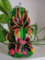 Свічка ручної роботи 17 cm